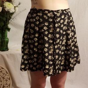 Vintage Expressions Midi Floural Skirt